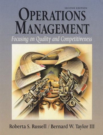 9780138499365: Operations Management: Focusing on Quality and Competitiveness
