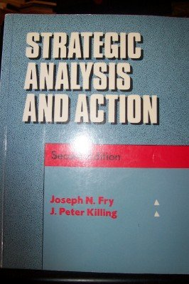 9780138504960: Strategic Analysis Action