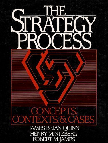 9780138508920: The Strategy Process: Concepts, Contexts and Cases