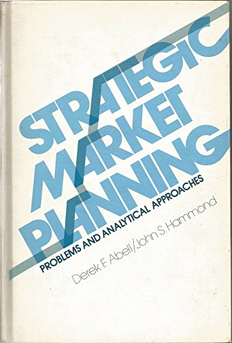 9780138510893: Strategic Market Planning: Problems and Analytical Approaches