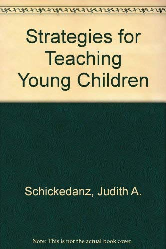 9780138511395: Strategies for Teaching Young Children