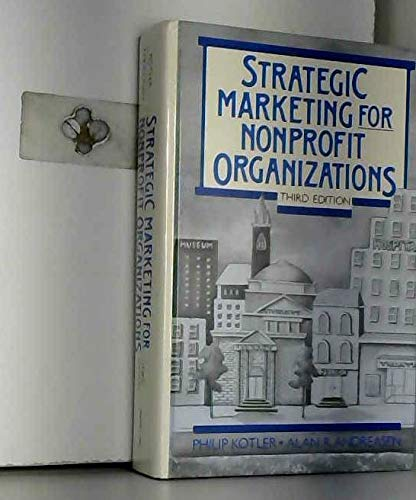 9780138512057: Strategic Marketing for Nonprofit Organizations