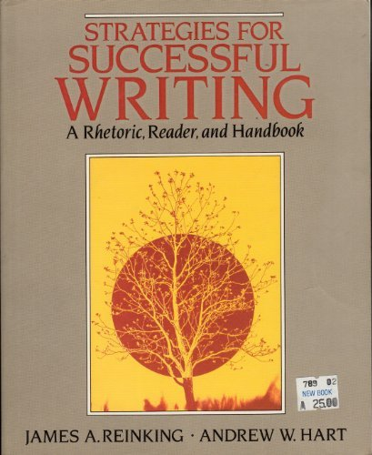 9780138513399: Strategies for successful writing: A rhetoric, reader, and handbook