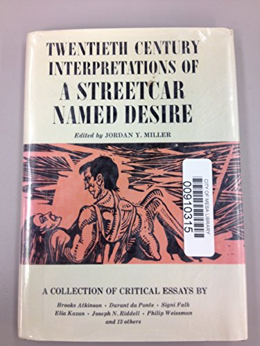 9780138514938: Twentieth Century Interpretations of A Streetcar Named Desire: A Collection of Critical Essays