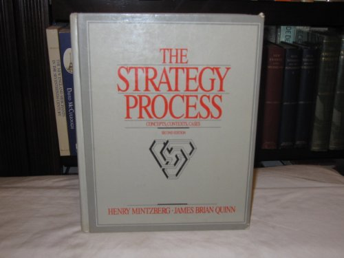 9780138519162: The Strategy Process: Concepts and Cases