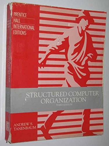 9780138528720: Structured Computer Organization