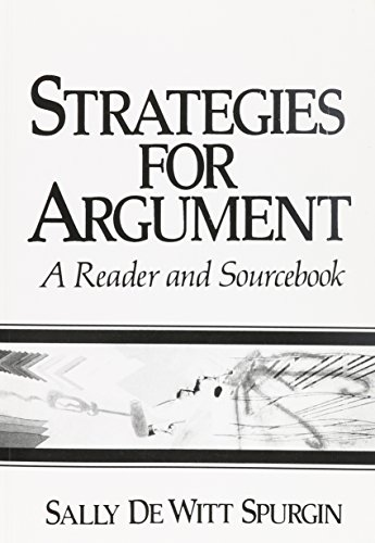 9780138532680: Strategies for Argument: A Reader and Sourcebook