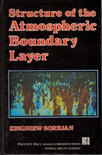 9780138535575: Structure of the Atmospheric Boundary Layer (Prentice Hall advanced reference series)