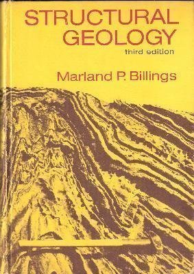STRUCTURAL GEOLOGY.: Billings, Marland P.