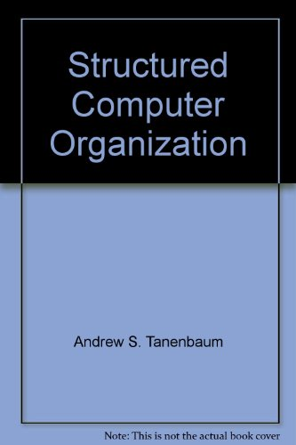 9780138544232: Structured Computer Organization by Andrew S. Tanenbaum