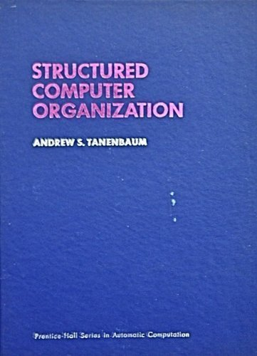 9780138545055: Structured Computer Organization (Prentice-Hall series in automatic computation)