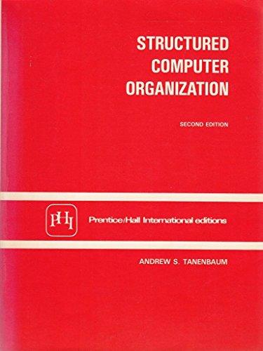 9780138546052: Structured Computer Organization
