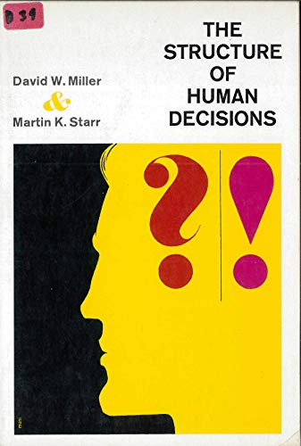 9780138546878: Structure of Human Decisions
