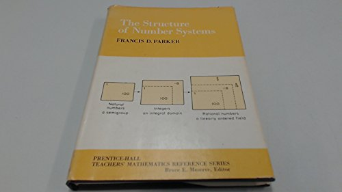 9780138547783: The structure of number systems