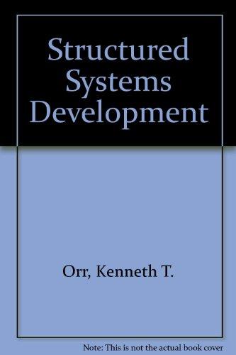 9780138551315: Structured Systems Development