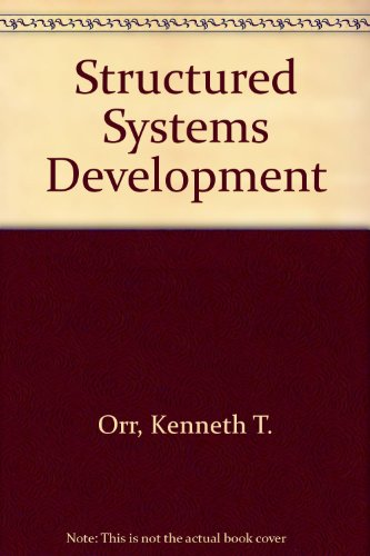 9780138551490: Structured Systems Development