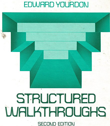 9780138552213: Structured Walkthroughs (Prentice-Hall software series)