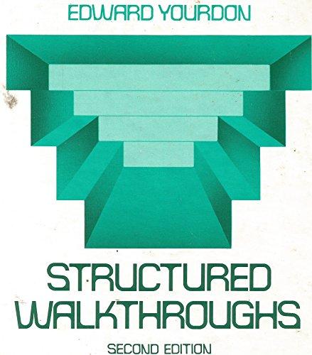 9780138552213: Structured Walkthroughs (Prentice-Hall software series)