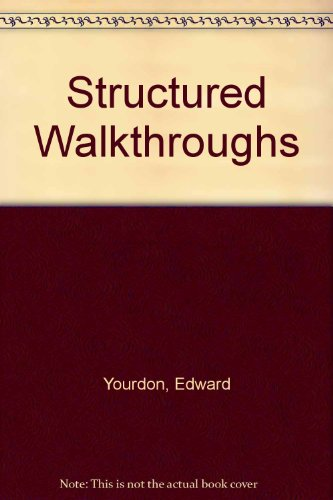 9780138552480: Structured Walkthroughs