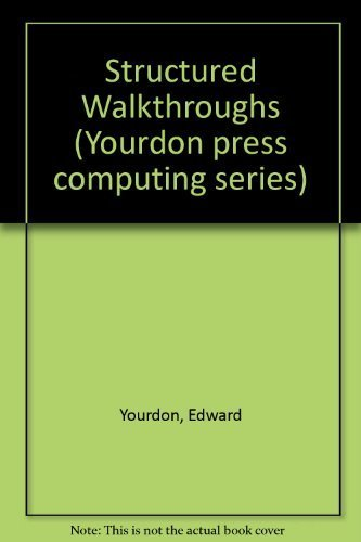 9780138552893: Structured Walkthroughs (Yourdon Press Computing Series)