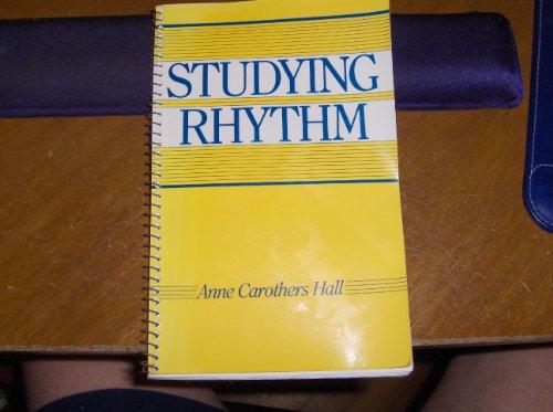 9780138556518: Studying Rhythm