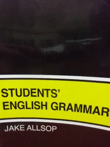 9780138560898: Student's English Grammar