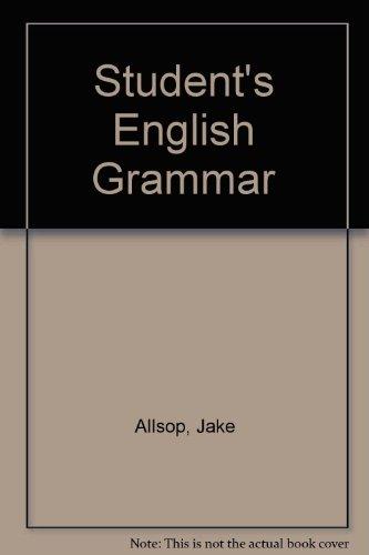 9780138560973: Student's English Grammar