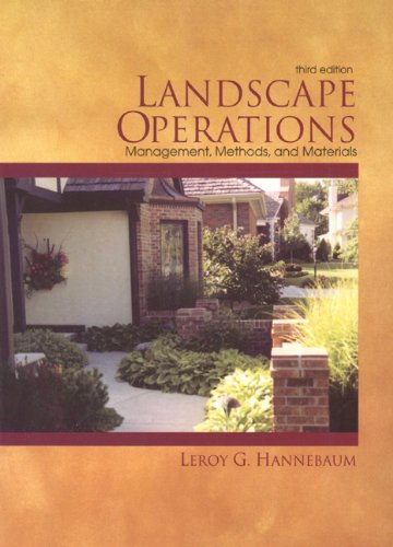 9780138569150: Landscape Operations: Management, Methods, and Materials (3rd Edition)