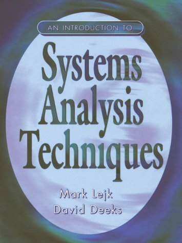 9780138577643: An Introduction to System Analysis Techniques
