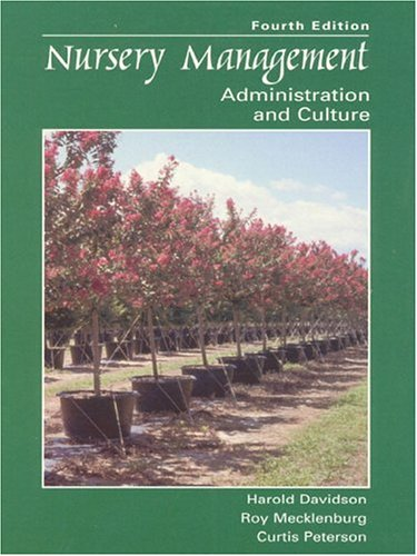 9780138579968: Nursery Management: Administration and Culture (4th Edition)
