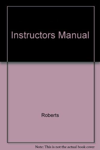 9780138583583: Instructors Manual