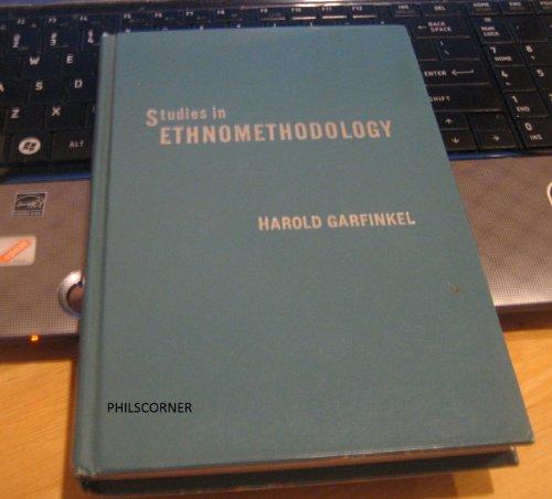 9780138583811: Studies in Ethnomethodology