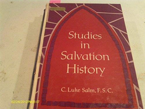 9780138584986: Studies in Salvation History