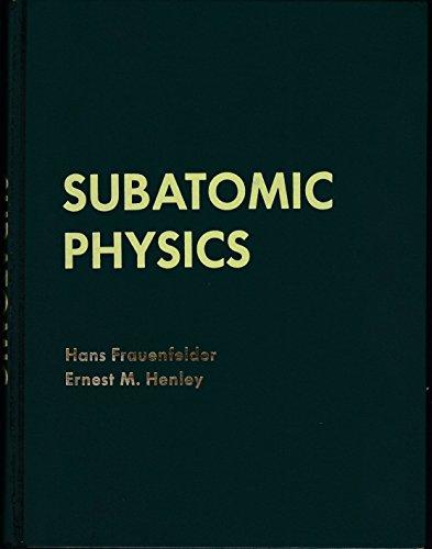 9780138590826: Subatomic Physics (Prentice-Hall physics series)