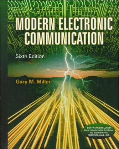 9780138598280: Modern Electronic Communication (6th Edition)