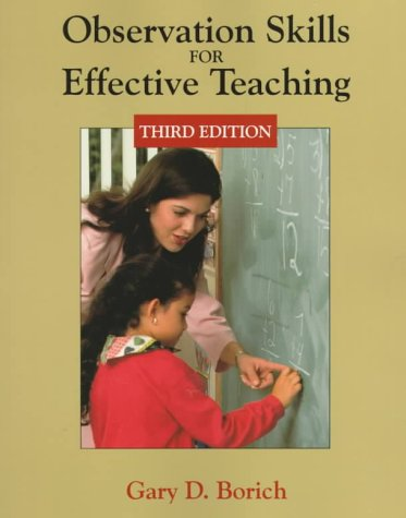9780138603960: Observation Skills for Effective Teaching