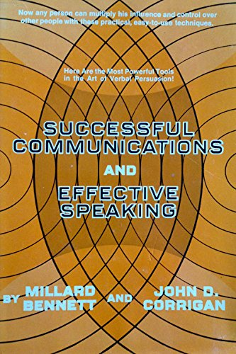 9780138604455: Successful communications and effective speaking
