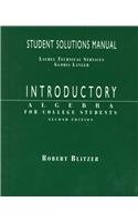 9780138605940: Introductory Algebra: Student Solutions Manual
