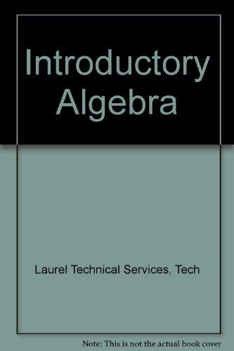 9780138625252: Introductory Algebra