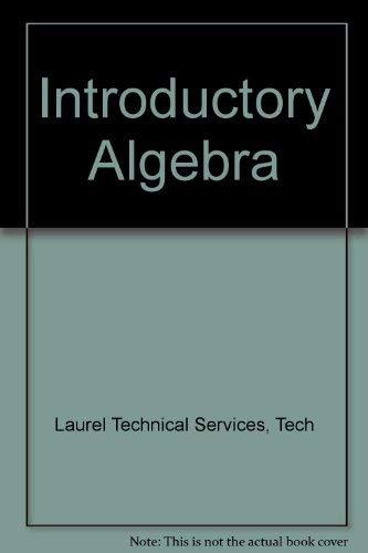 Introductory Algebra: Martin-Gay, K. Elayn