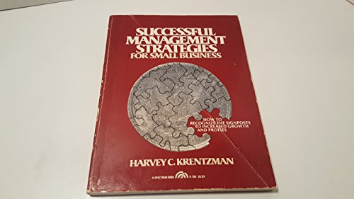 9780138631185: Successful Management Strategies for Small Businesses
