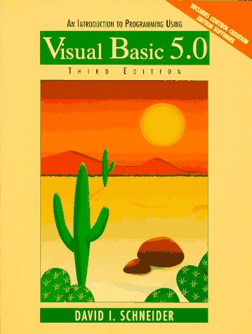 9780138758578: An Introduction to Programming Using Visual Basic 5.0