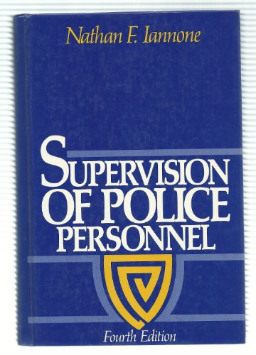 9780138770280: Supervision of Police Personnel