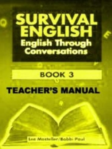 9780138783495: Survival English: English Through Conversations: Teacher's Manual Bk. 3