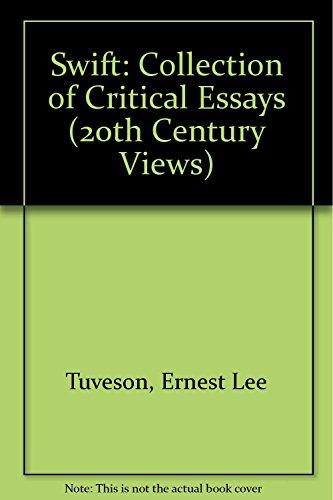 9780138795108: Swift: A Collection of Critical Essays (Twentieth Century Views)