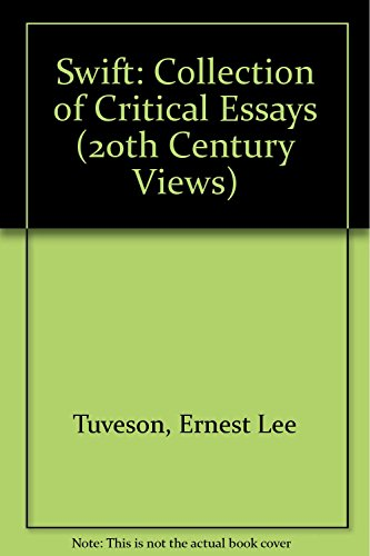 9780138795108: Swift: Collection of Critical Essays (20th Century Views)