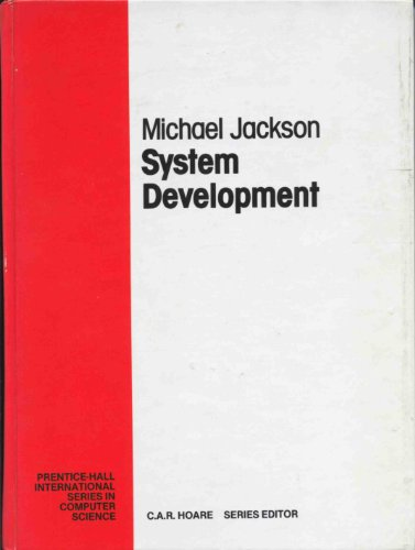 9780138803285: System Development (Prentice Hall International Series in Computing Science)