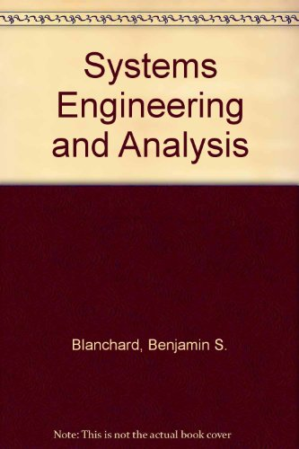 9780138808402: Systems Engineering and Analysis