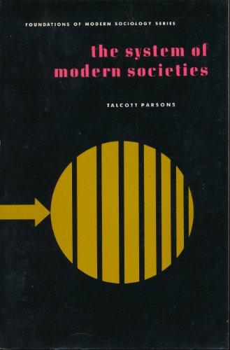 9780138815400: System of Modern Societies (Foundations of Modern Sociology)