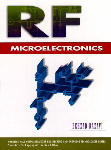 9780138875718: RF Microelectronics (Prentice Hall Communications Engineering and Emerging Technologies)